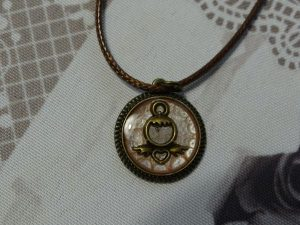 Anđeo - mali medaljon